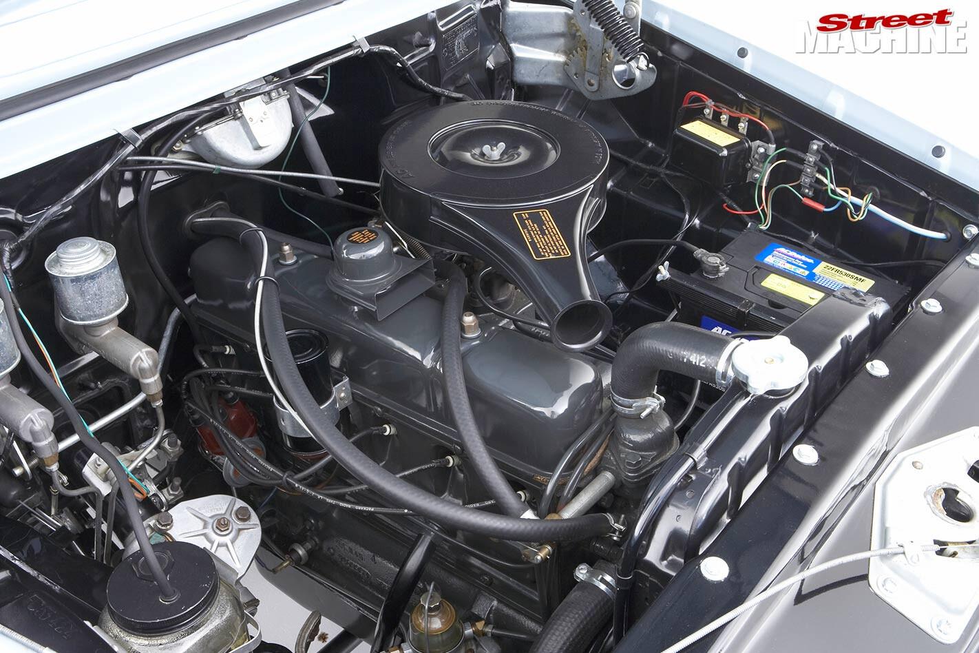 Holden FC engine bay