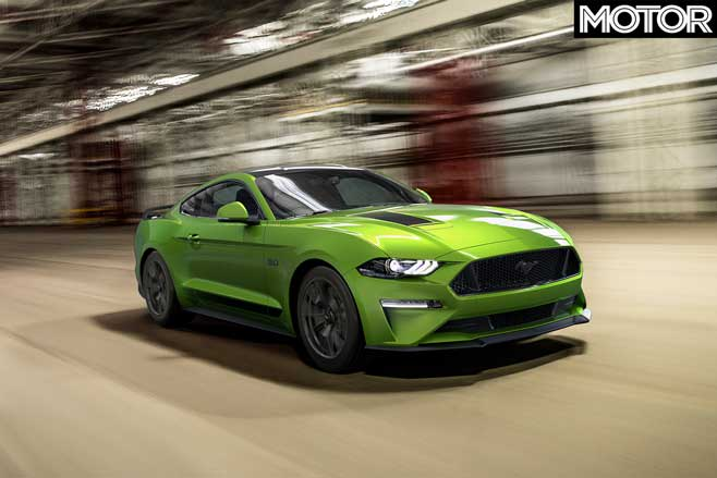 2020 Ford Mustang update front