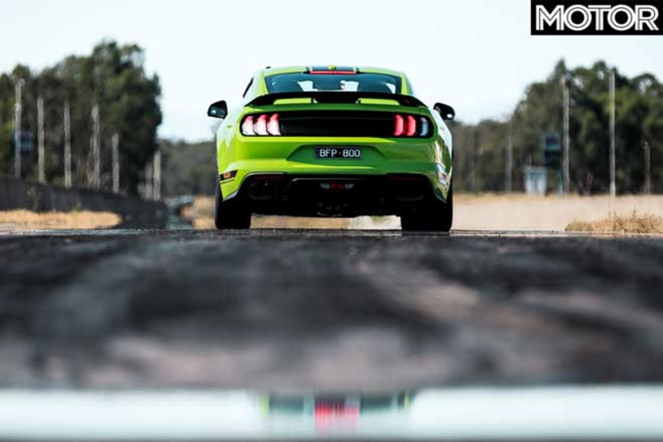 Ford Mustang R Spec Drag Test Figures Times Jpg