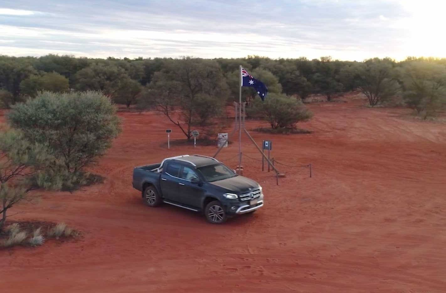 Journey to the centre of Australia video