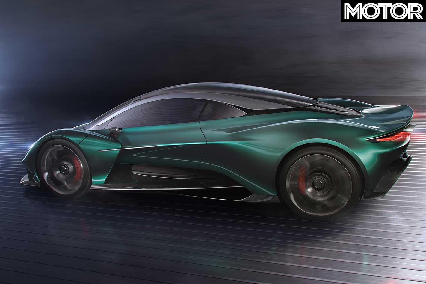 Aston Martin Vanquish Vision Concept Rear Jpg