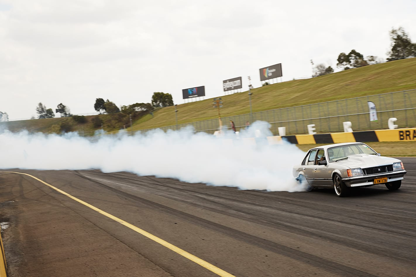 Adrian Borg's Holden VC Commodore at Powercruise