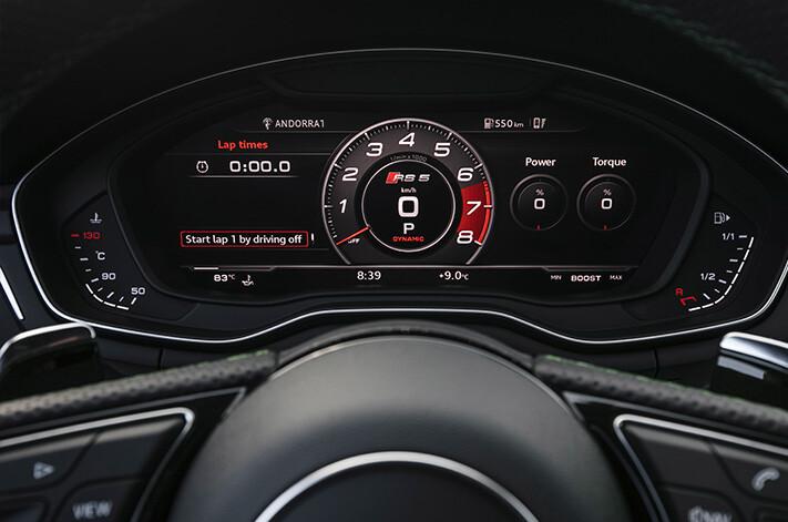 Audi Rs 5 Interior Virtual Cockpit Jpg