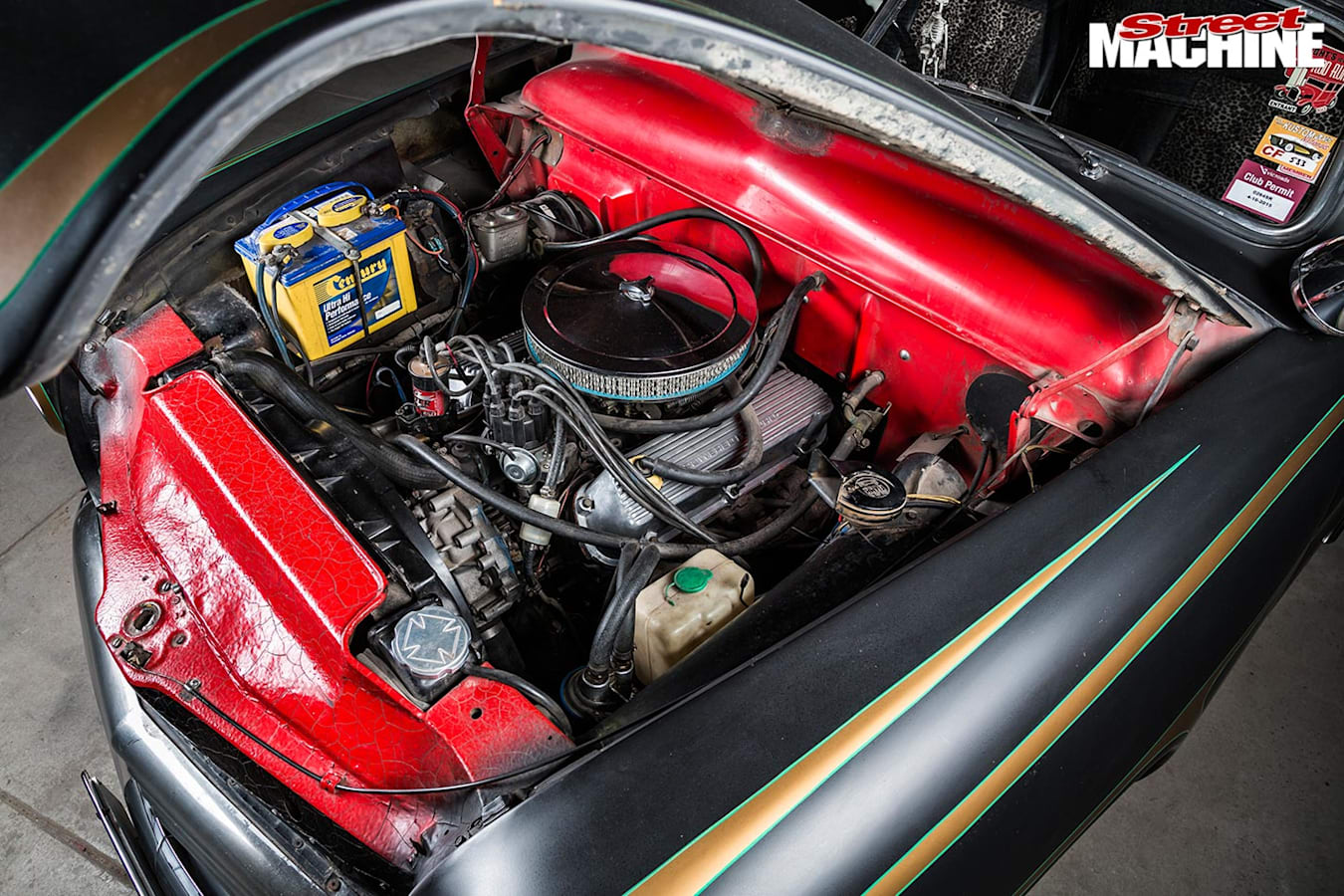 Ford Spinner engine