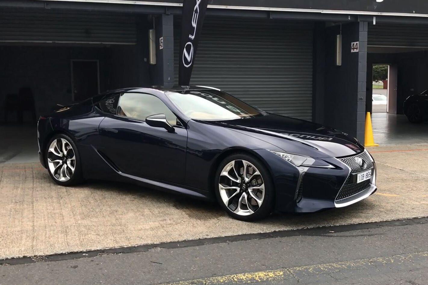 2018 Lexus LC 500 main