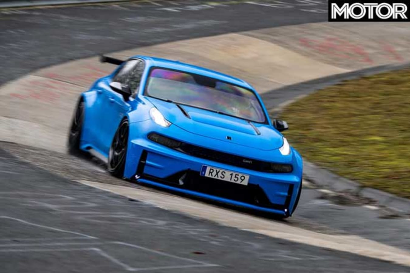 Lynk Co 03 Cyan Concept FWD Nurburgring Record Carousell Jpg