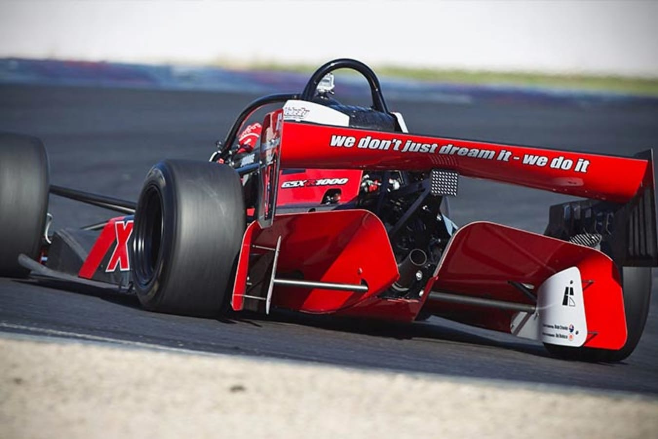 Hyper X1 Racer rear