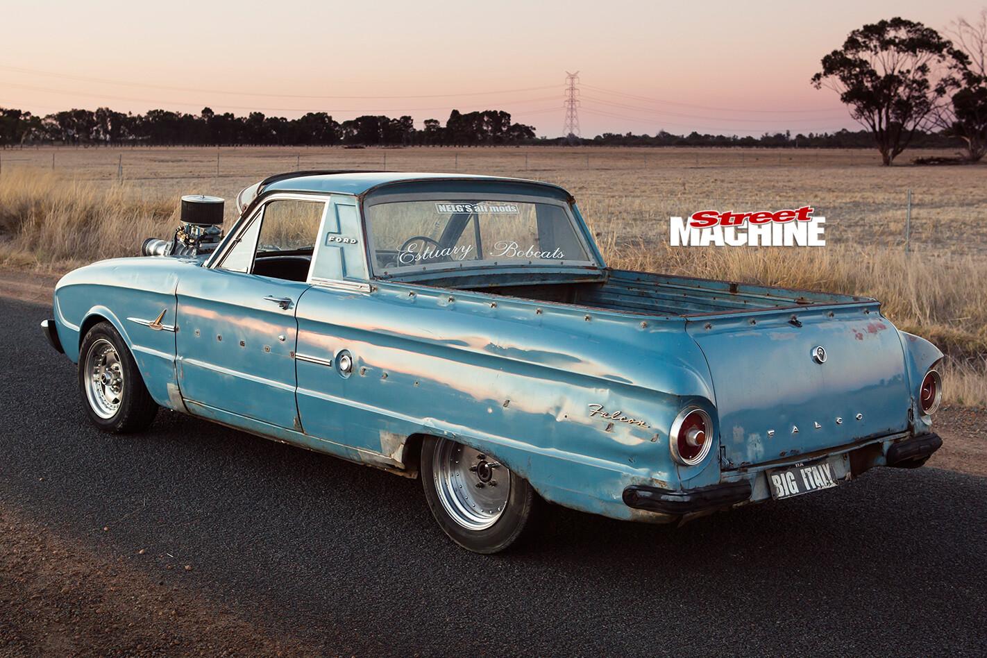 Ford -xl -falcon -ute -rear -view