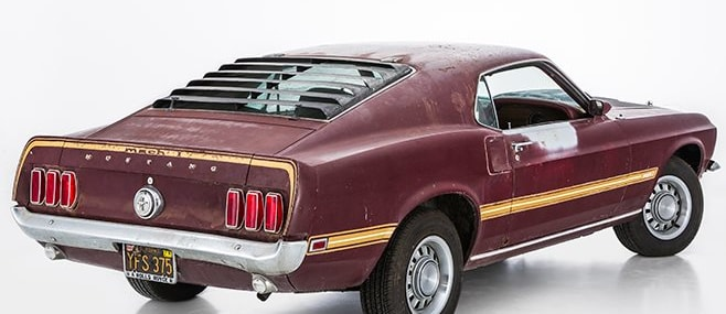ford mustang rear angle
