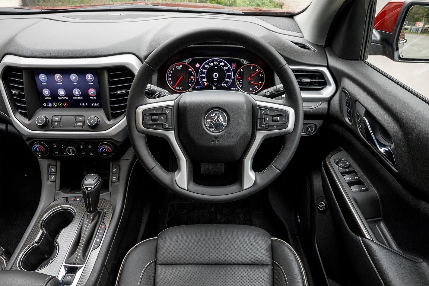 Holden Acadia Interior Jpg