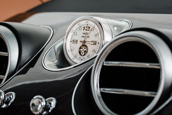 Bentayga Breitling Clock