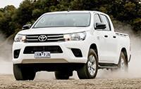 4X4 Australia Ute Mega Test 2018 - Toyota Hilux SR+