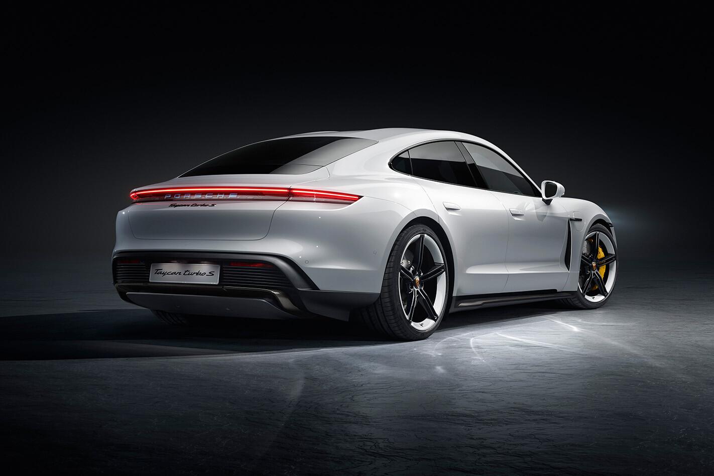 Porsche Taycan Technical Details Rear Jpg