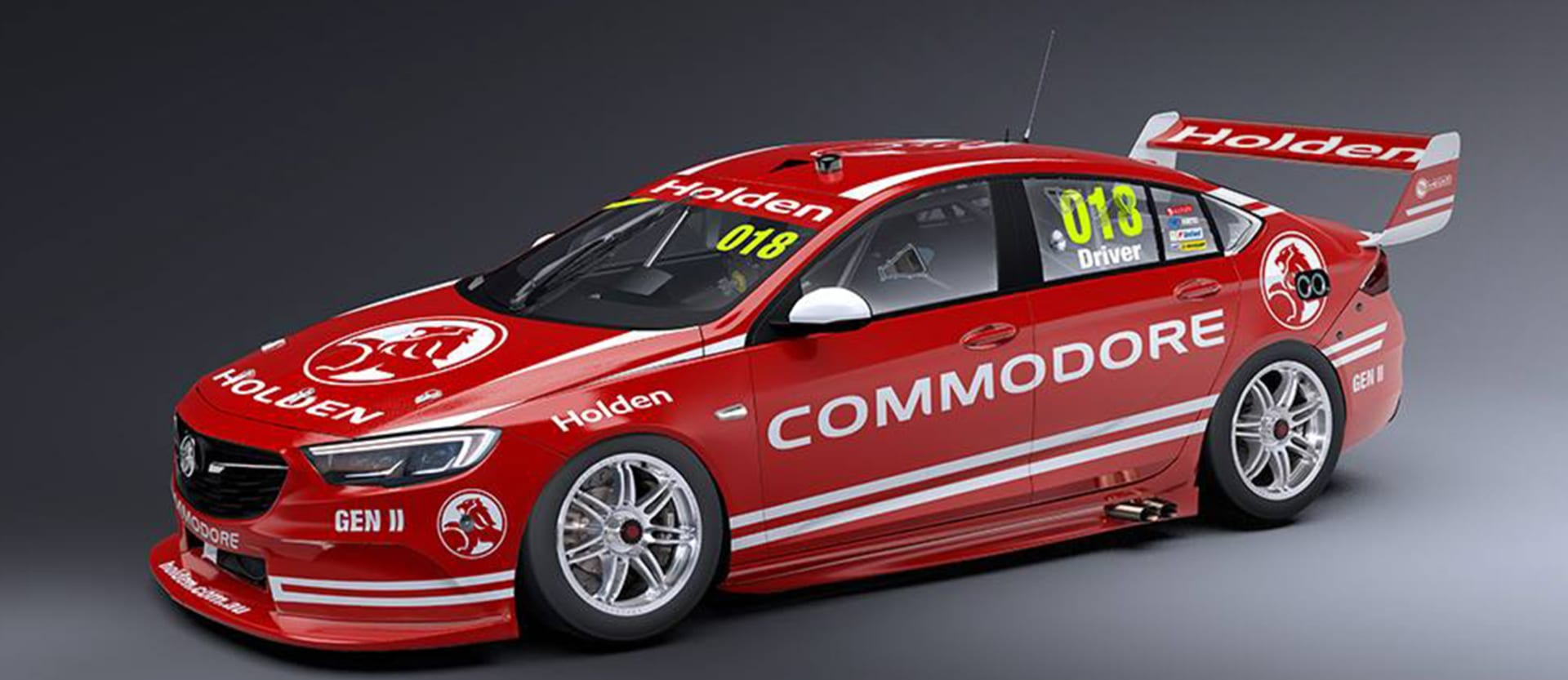 2018 Holden Commodore race car