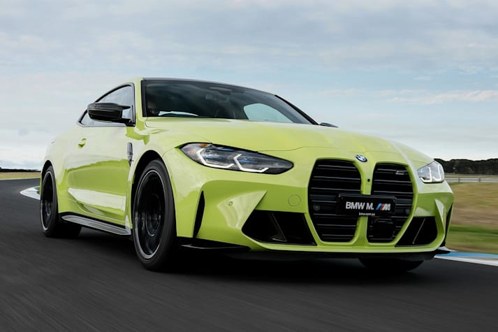 2021 BMW M4 track review