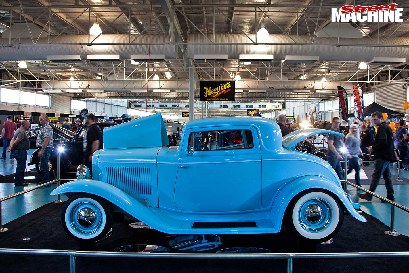 1934 ford coupe at WA Hot Rod Spectacular