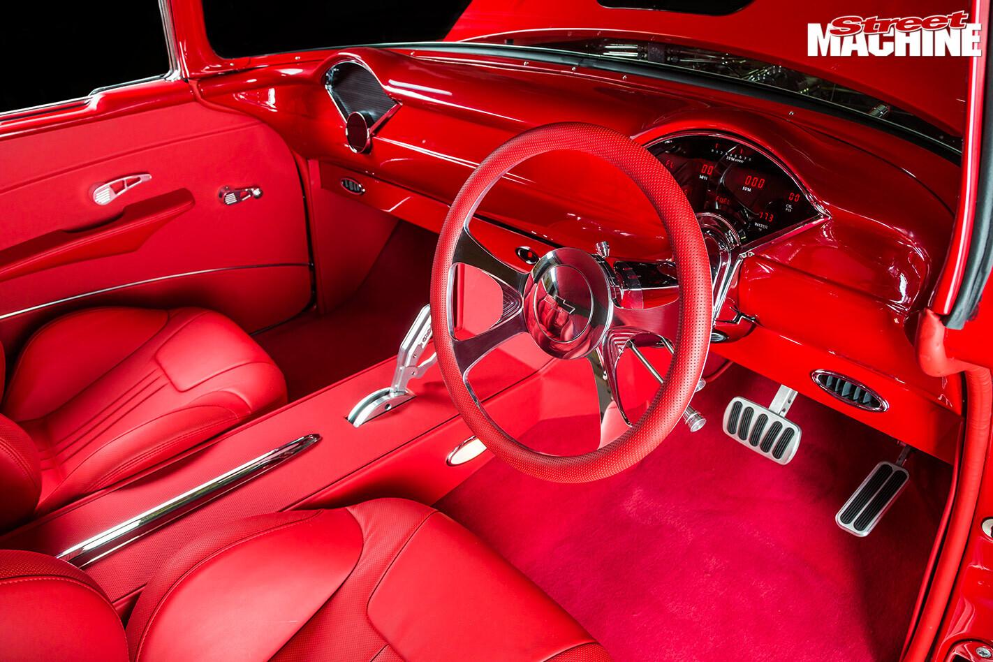 1957 chev interior