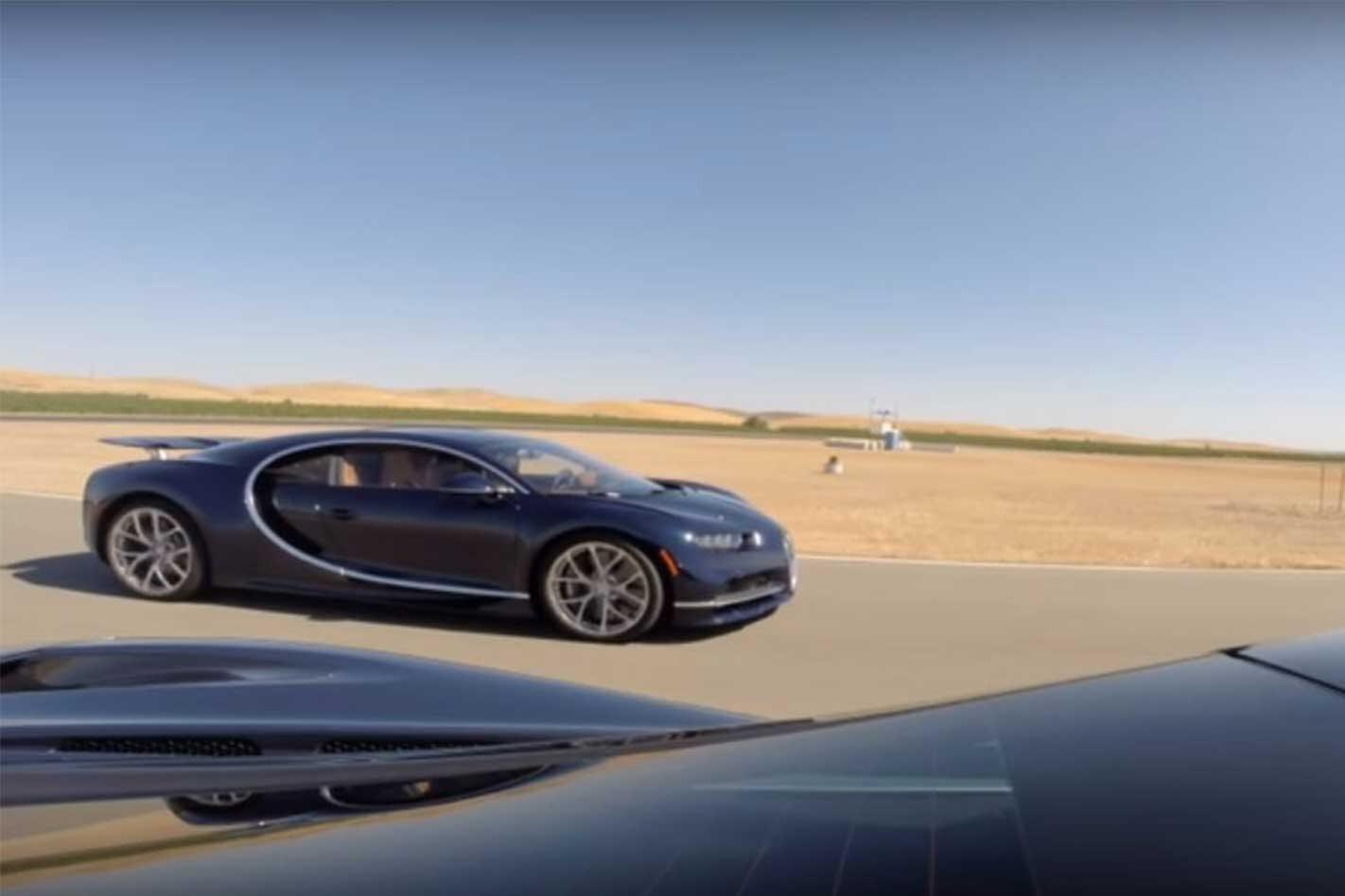 Mclaren 720s vs Bugatti Chiron 1