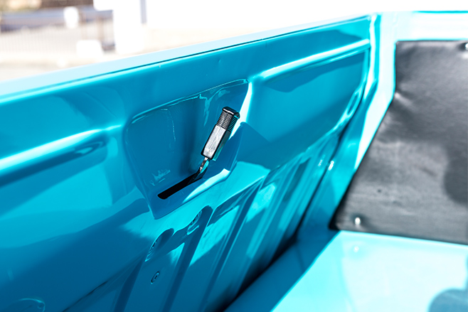 Ford XP ute tray handle