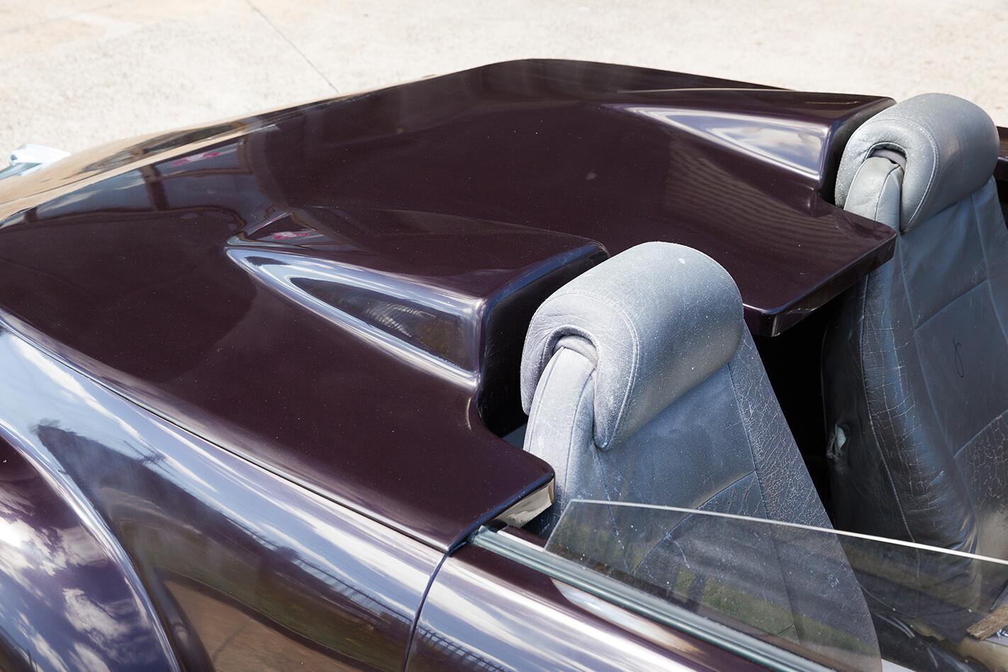 EFIJY FX rear panel