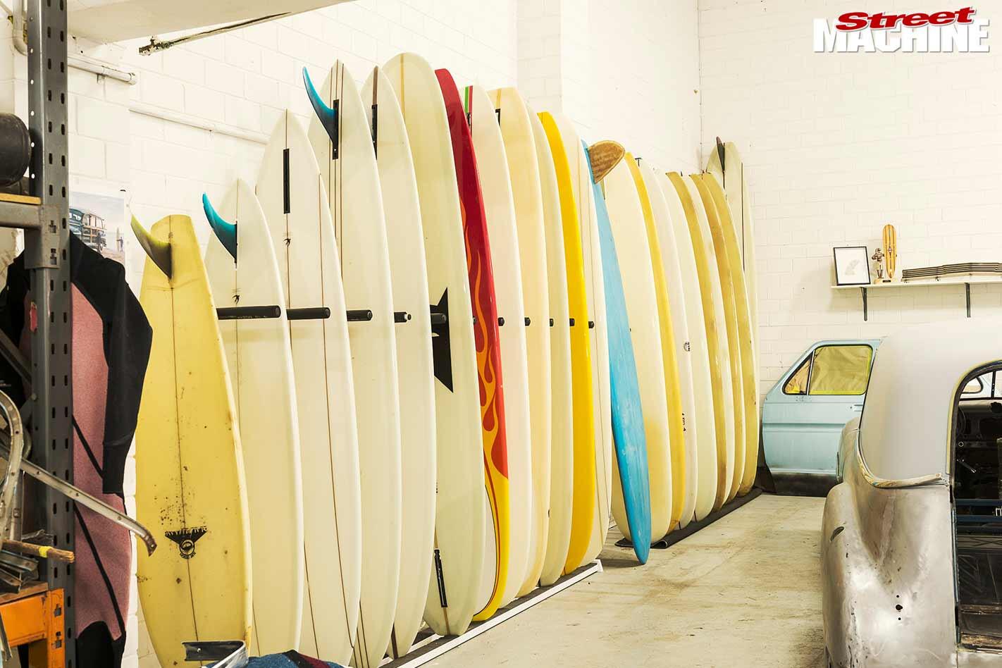 Matty Chojnacki surfboards