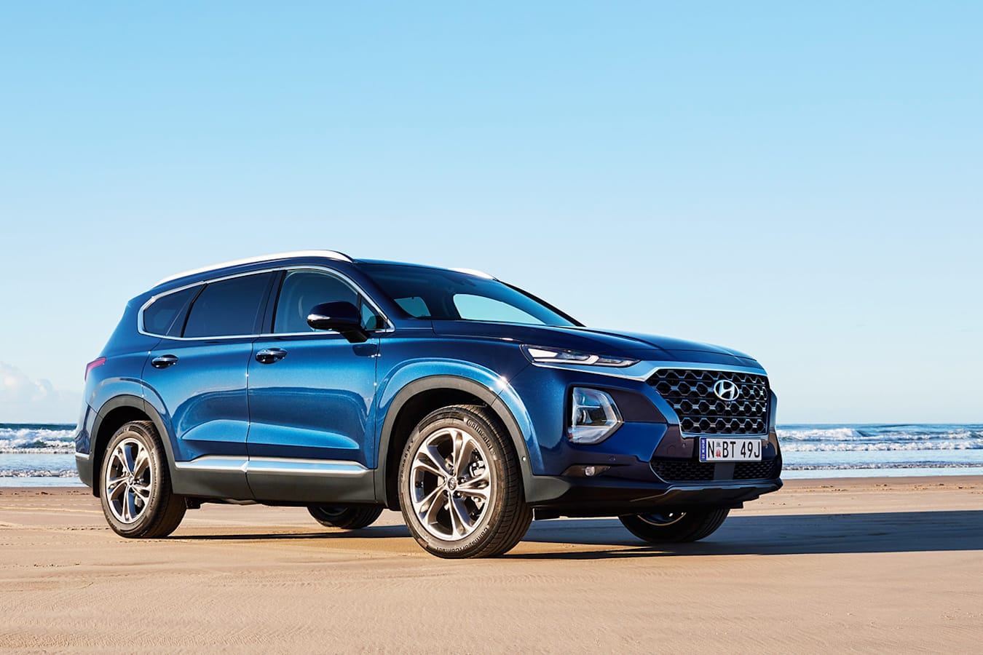 Hyundai Santa Fe Front Qtr Jpg