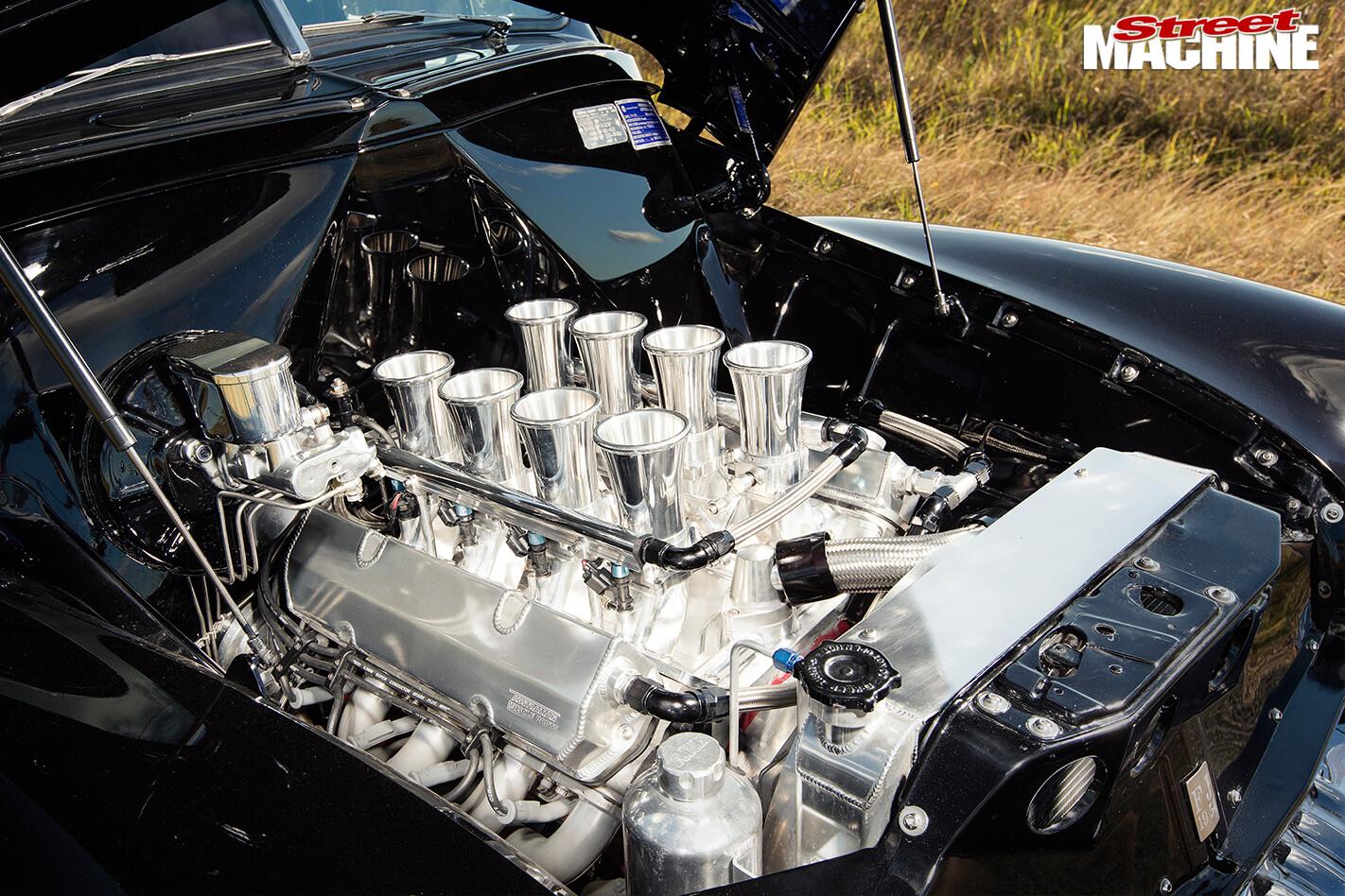 Holden -FJ-ute -engine -detail