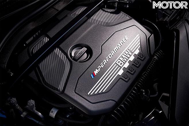 2020 BMW M135i engine