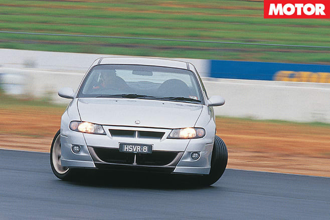 HSV Clubsport R8 driving