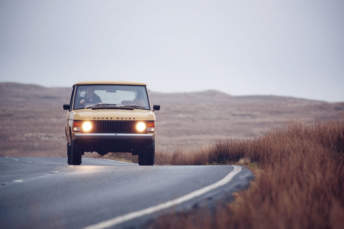Range Rover front driving