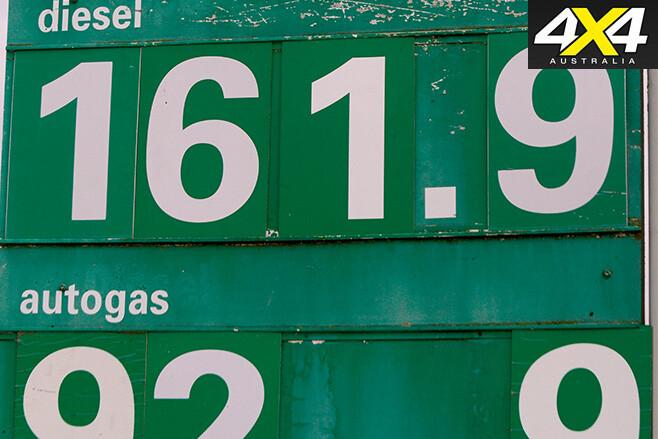 Diesel and LPG prices