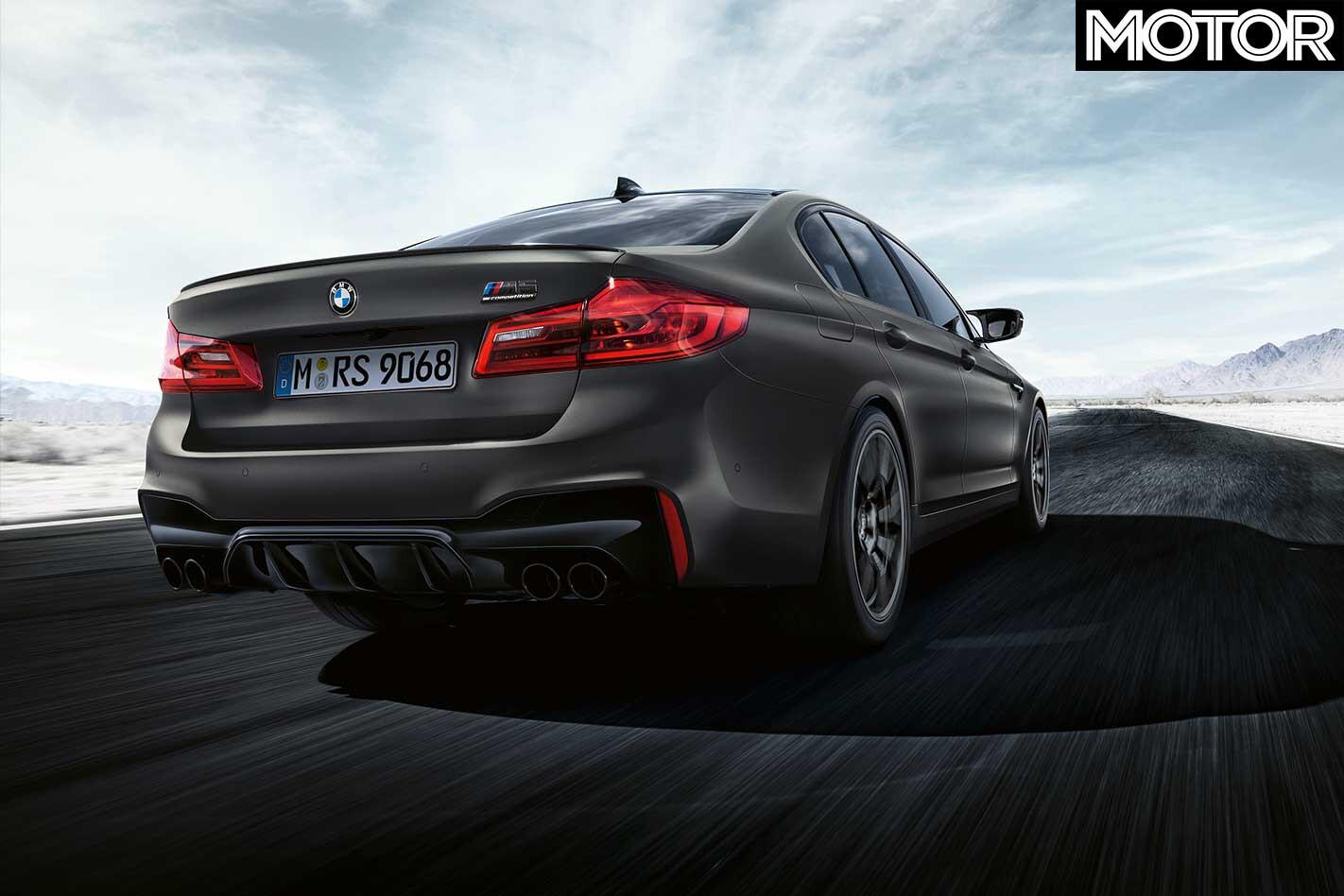 2019 BMW M 5 Edition 35 Years Rear Jpg