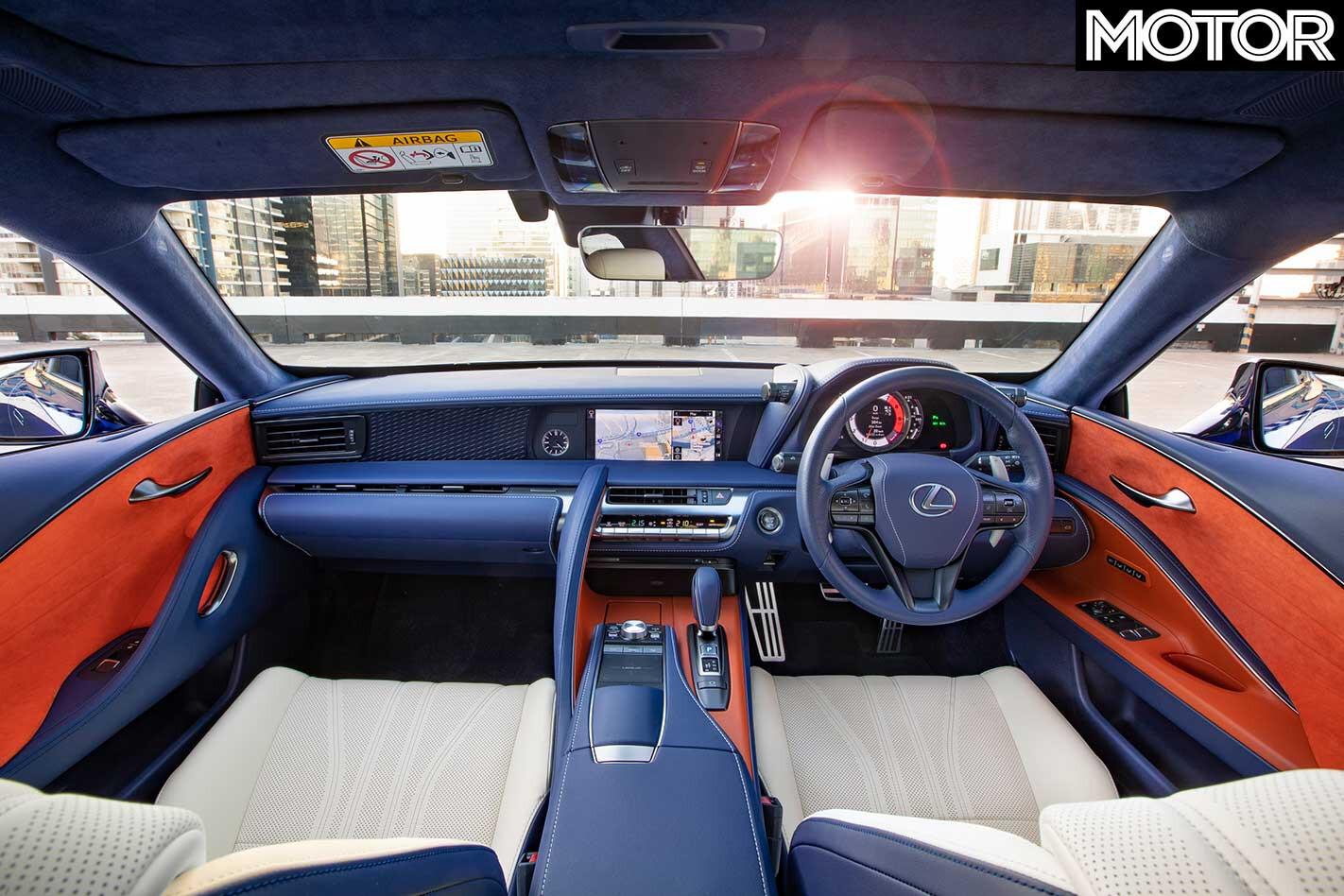 Lexus Morphic Blue Interior Jpg