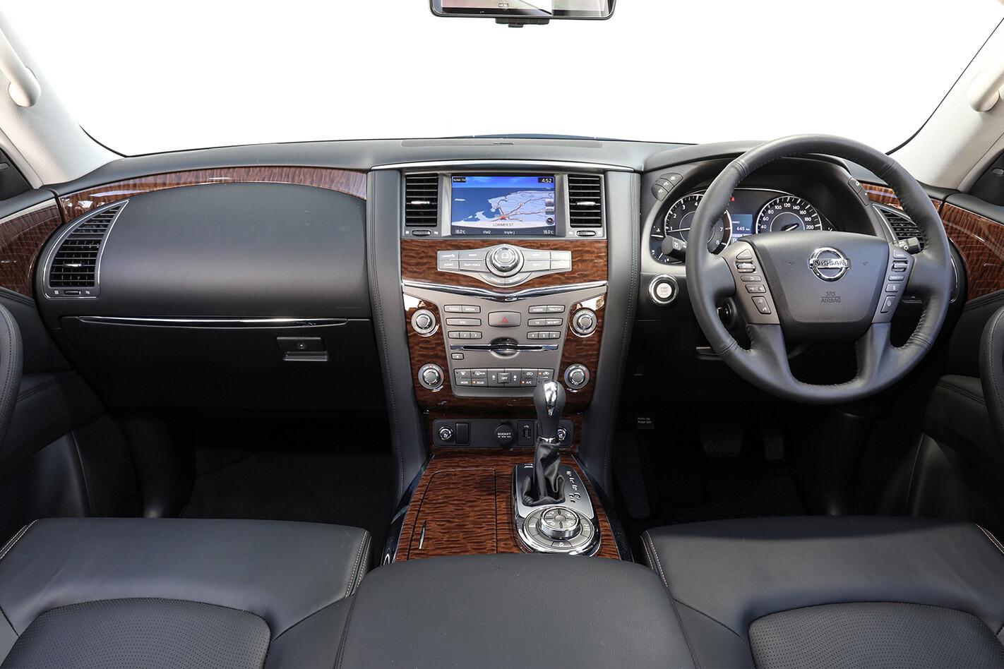 2018 Nissan Patrol Interior   Wheels Magazine