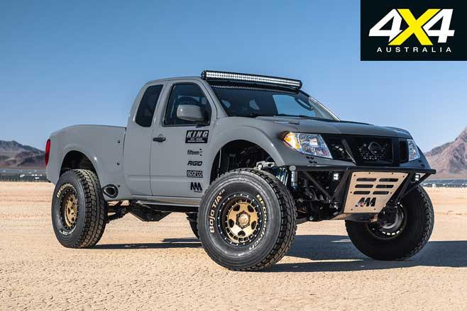 Nissan Frontier Desert Runner SEMA Jpg
