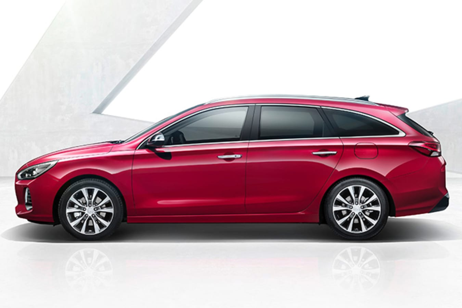 2017 Hyundai i30 Wagon side