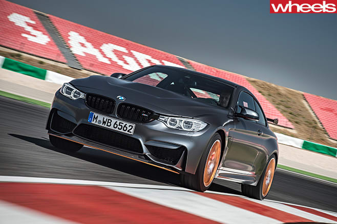 BMW-M4-GTS-front -side -driving