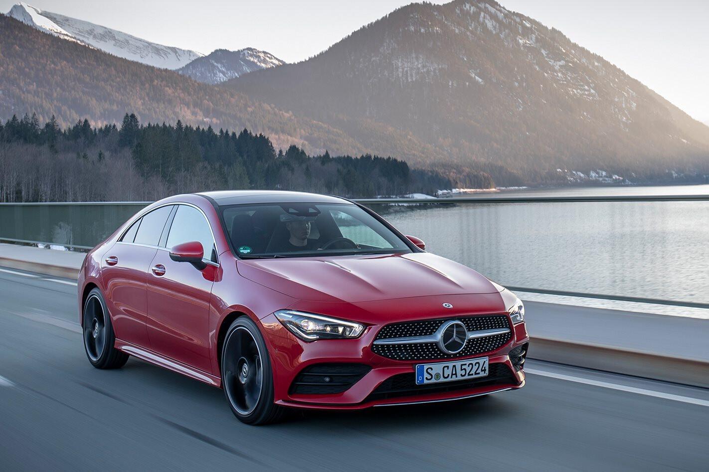 Mercedes Benz Cla Red Jpg