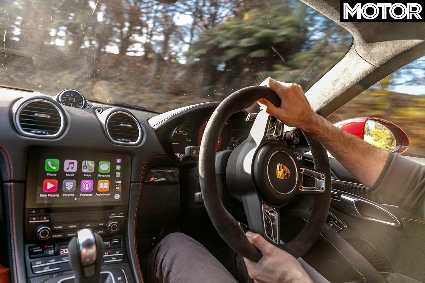 2018 Porsche 718 Cayman GTS Interior Drive Jpg