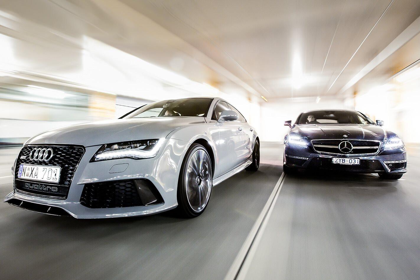 Audi RS7 v Mercedes-Benz CLS63 S