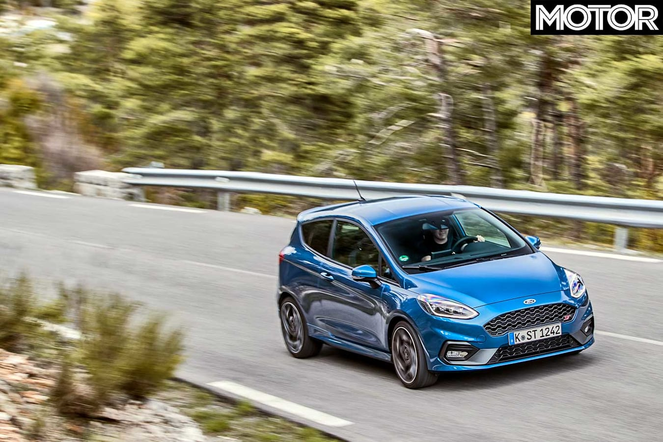 2018 Ford Fiesta St Performance Review Front Handling Jpg