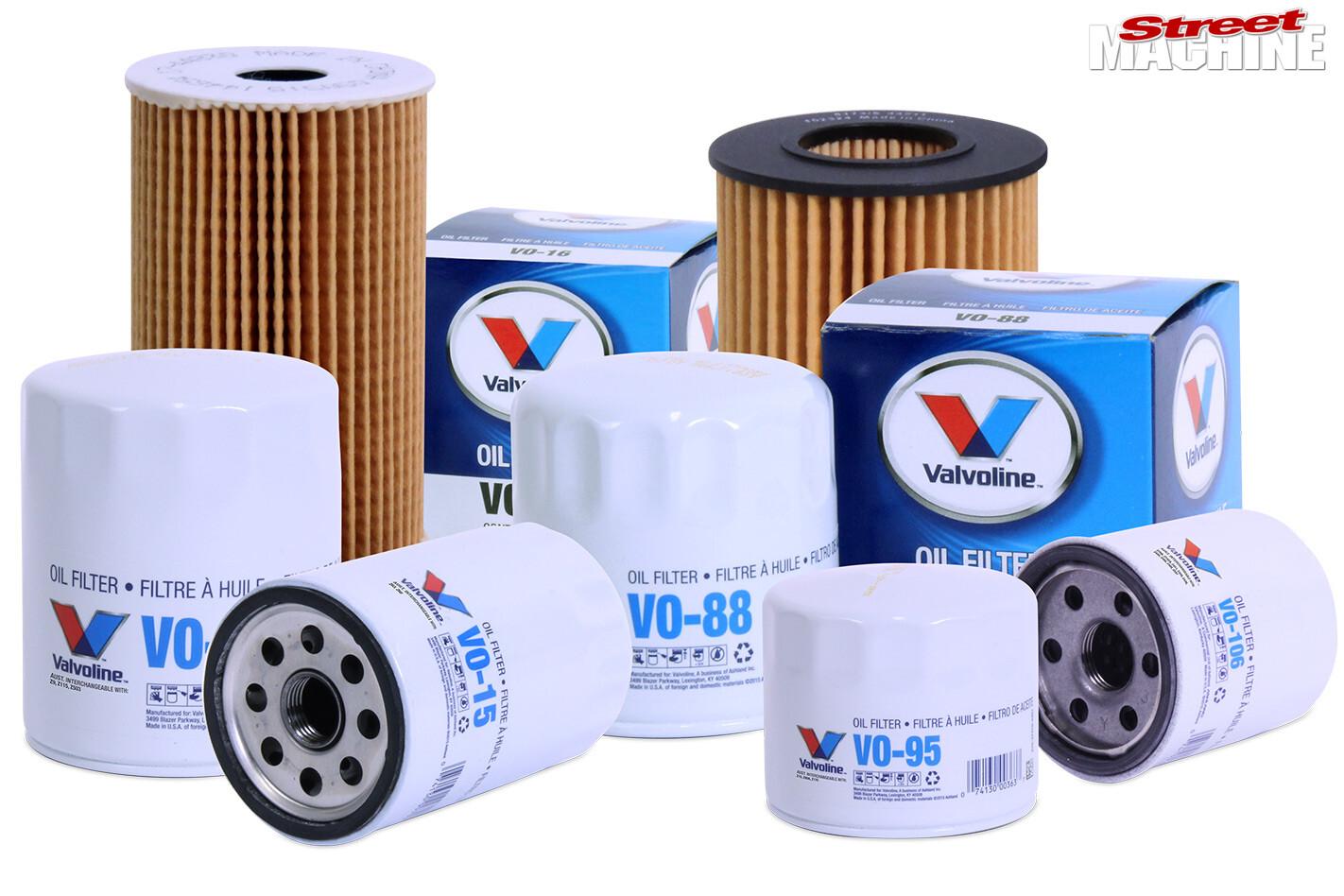 Valvoline oil filters