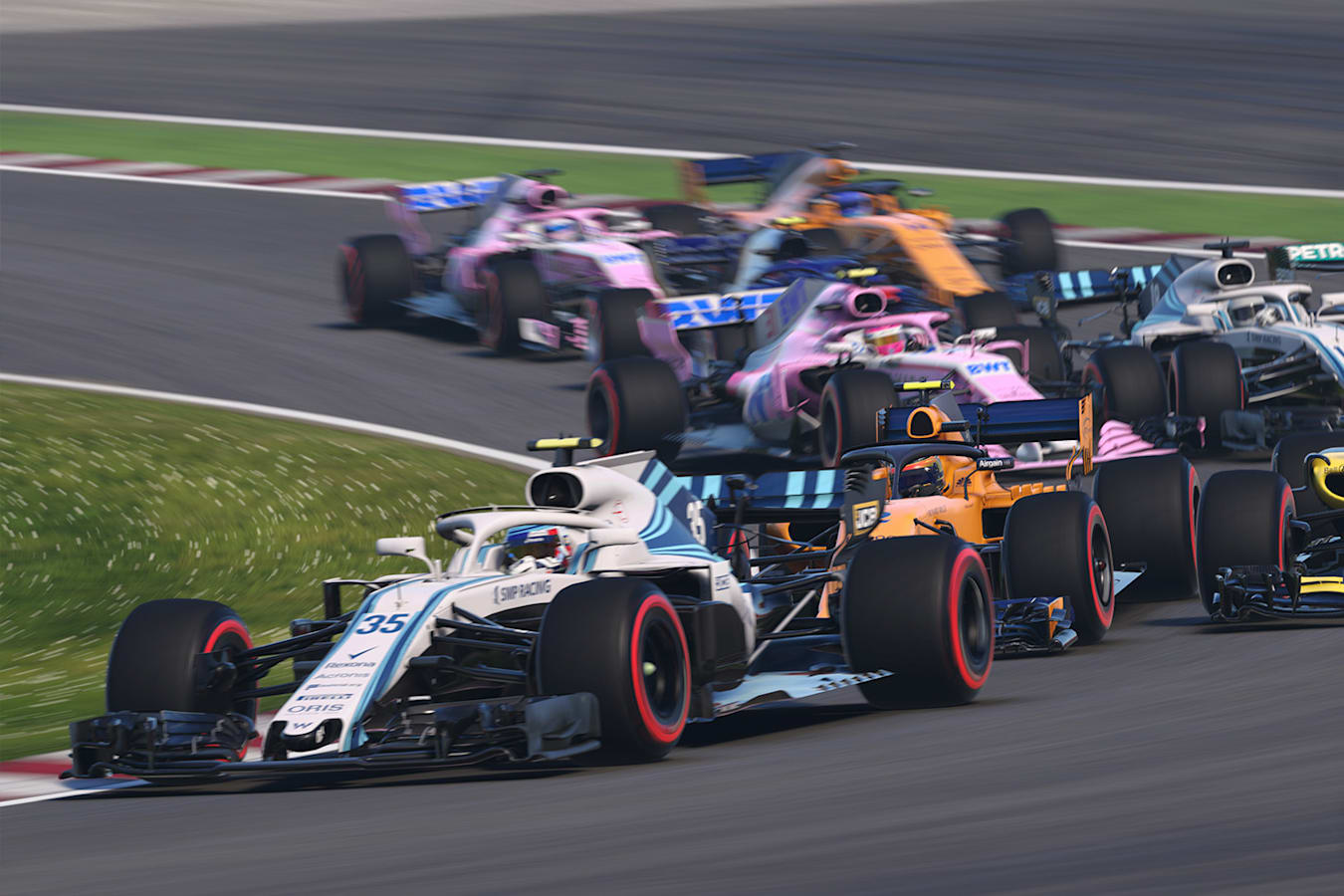 F 1 2018 Cars Jpg