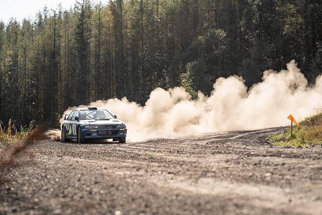 Max McRae Subaru Impreza 555