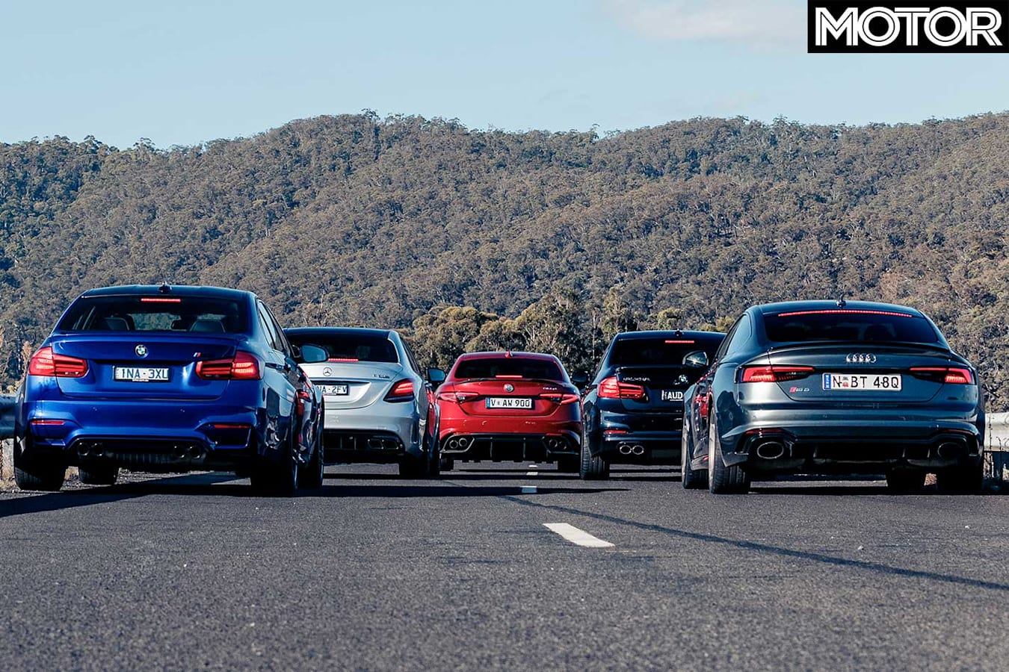 2019 Mercedes AMG C 63 S Vs Audi RS 5 Sportback Vs BMW M 3 Pure Vs Alfa Romeo Giulia Q Vs Alpina B 3 S Specification Comparison Jpg