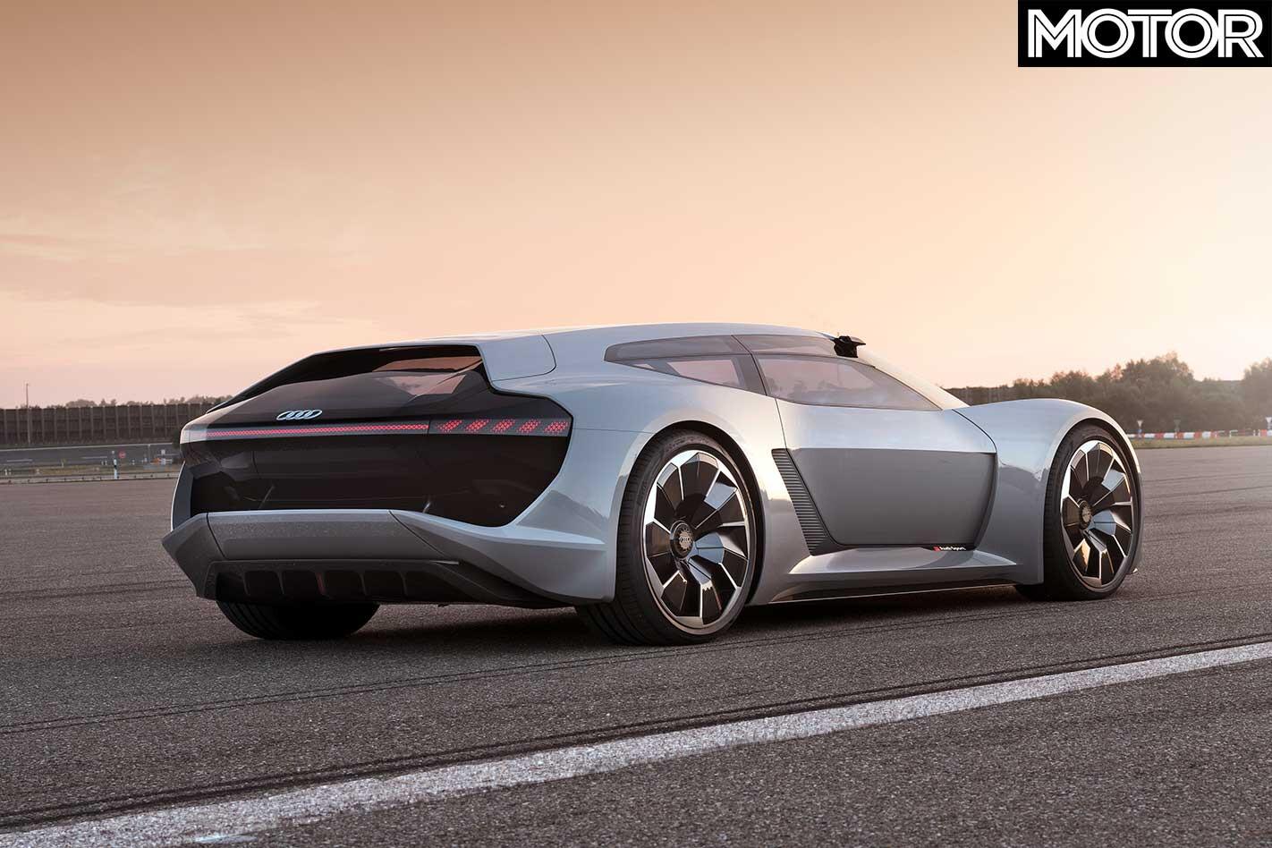 Audi PB 18 E Tron Concept Rear Jpg