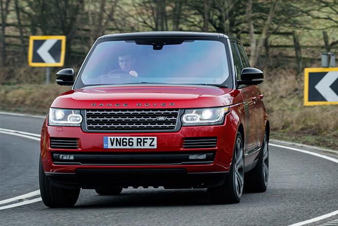 2017 Range Rover SVA Dynamic front