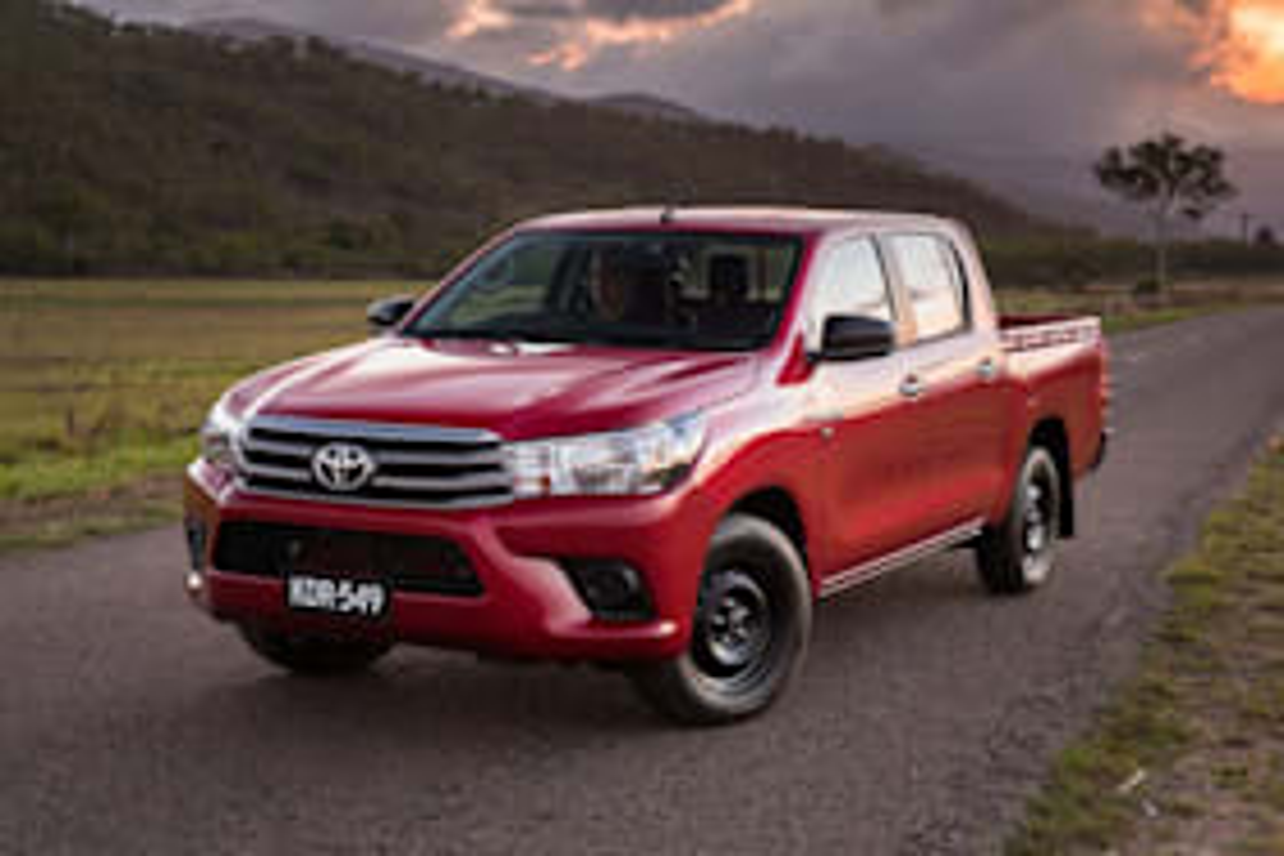 2017 Toyota Hilux - australia's top selling vehicle