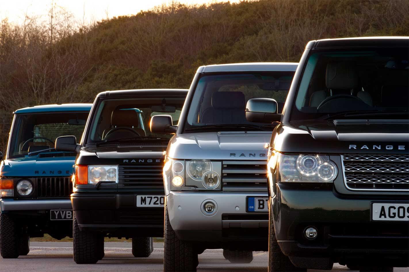 Celebrating 50 years of Range Rover
