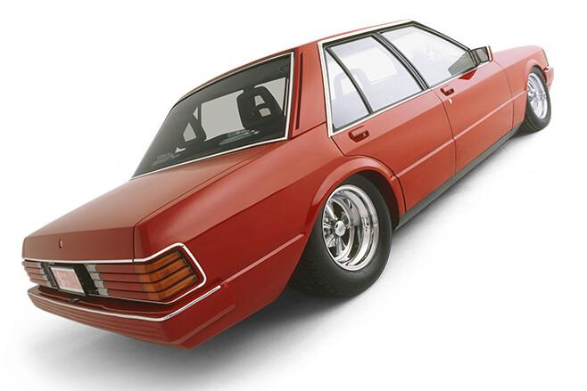 Ford Falcon XD rear angle